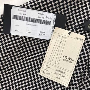 MaxMara Pants & Jumpsuits - NWT Weekend Max Mara FITW13 Cigarette Pant